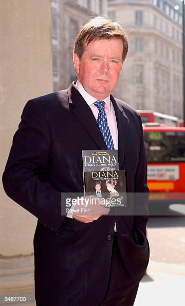 Ken Wharfe former Personal Protection Officer to Diana Princess Of Wales attends photocall to launch his UK tour at Broadcasting House on April 26...