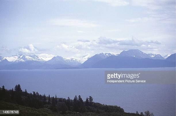 Kenai Mountains near Homer Alaska