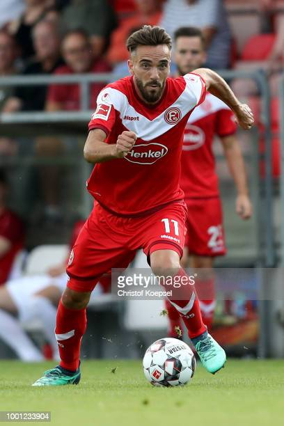 Kenan Karaman of Duesseldorf runs with the ball during the Pre Season Friendly match between FC WegbergBeeck and Fortuna Duesseldorf at Waldstadion...