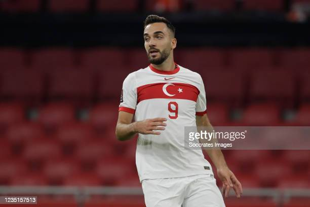 Kenan Karaman of Turkey during the World Cup Qualifier match between Holland v Turkey at the Johan Cruijff Arena on September 7, 2021 in Amsterdam...
