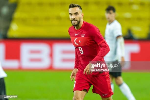 Kenan Karaman of Turkey looks on during the international friendly match between Germany and Turkey at RheinEnergieStadion on October 7, 2020 in...