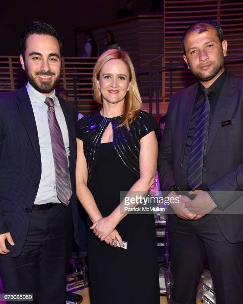 Kenan Rahmani Samantha Bee and Raed Saleh attend the 2017 TIME 100 Gala at Jazz at Lincoln Center on April 25 2017 in New York City