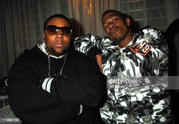 Kenan Thompson and Nick Cannon during Nickelodeon's 19th Annual Kids' Choice Awards - Backstage and Audience at Pauley Pavillion in Westwood,...