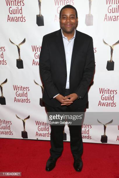 Kenan Thompson attends 71st Annual Writers Guild Awards New York Ceremony at Edison Ballroom on February 17 2019 in New York City