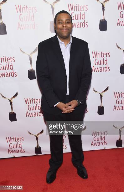 Kenan Thompson attends the 71st Annual Writers Guild Awards New York ceremony at Edison Ballroom on February 17 2019 in New York City