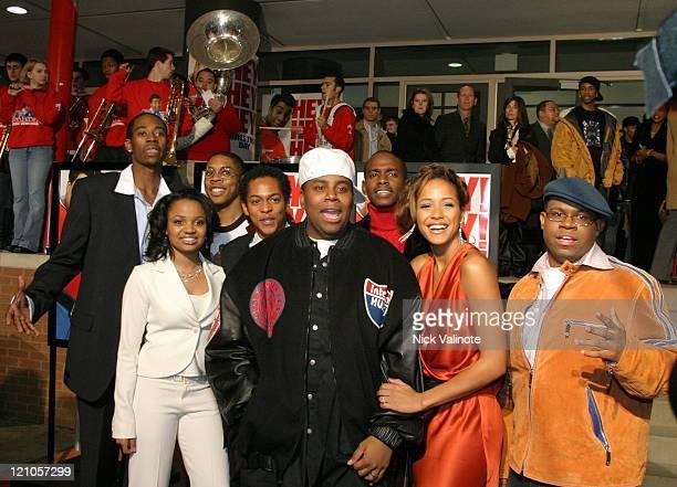 Kenan Thompson Jermaine Williams Aaron Frazier Keith Robinson Shedrack Anderson Alphonso McAuley Kyla Pratt and Dania Ramirez