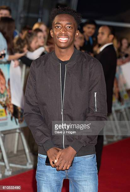 Kenanomics attends the Laid In America World Premiere at Cineworld 02 Arena on September 26 2016 in London England