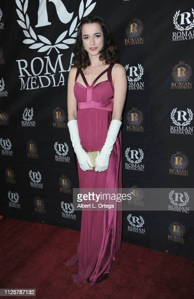 Kendal Brenneman arrives for Roman Media's 5th Annual Hollywood Event A Celebration of Women and Diversity in Film held at St Felix on February 18...