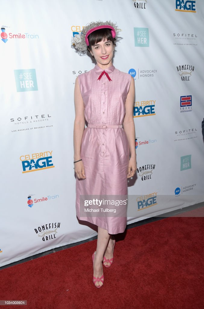 #SeeHER And Celebrity Page's Emmy Party At The Sofitel - Arrivals : News Photo