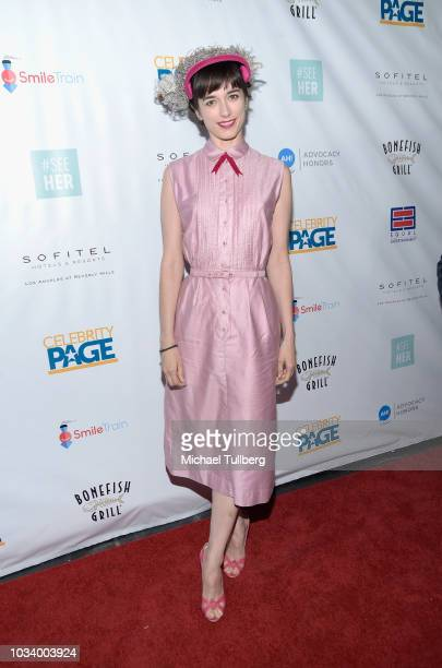 Kendal Brenneman attends #SeeHER And Celebrity Page's Emmy Party at Sofitel Los Angeles At Beverly Hills on September 15 2018 in Los Angeles...