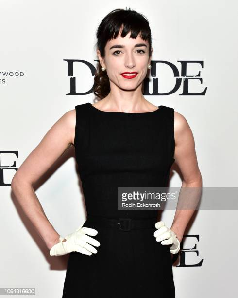 Kendal Brenneman attends the Los Angeles premiere of The Divide at Ahrya Fine Arts Theater on November 05 2018 in Beverly Hills California