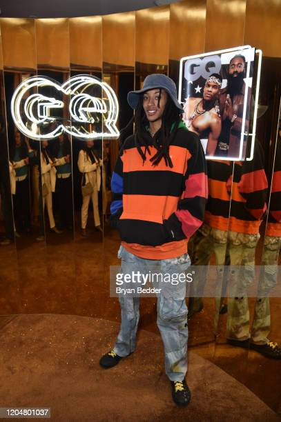 Kendal Harrison attends the GQ March Cover Party at The Standard Highline on March 01 2020 in New York City