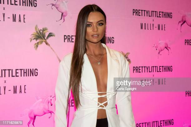Kendal Rae Knight attends the Pretty Little Thing X MollyMae party at Rosso on September 01 2019 in Manchester England
