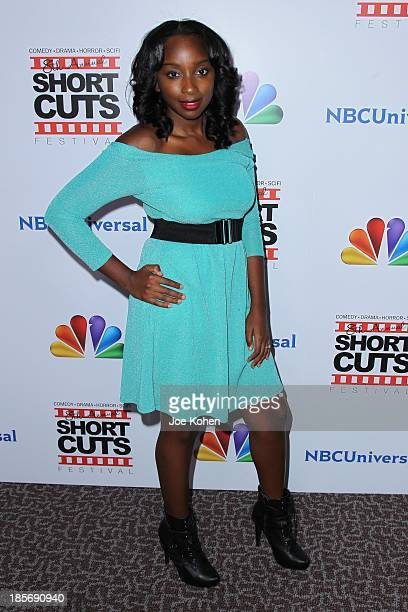 Kendall Corlett attends NBC Universal's 8th Annual Short Cuts Festival Grand Finale at DGA Theater on October 23 2013 in Los Angeles California