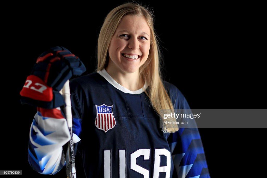 USA Hockey Women's Olympic Team Portraits