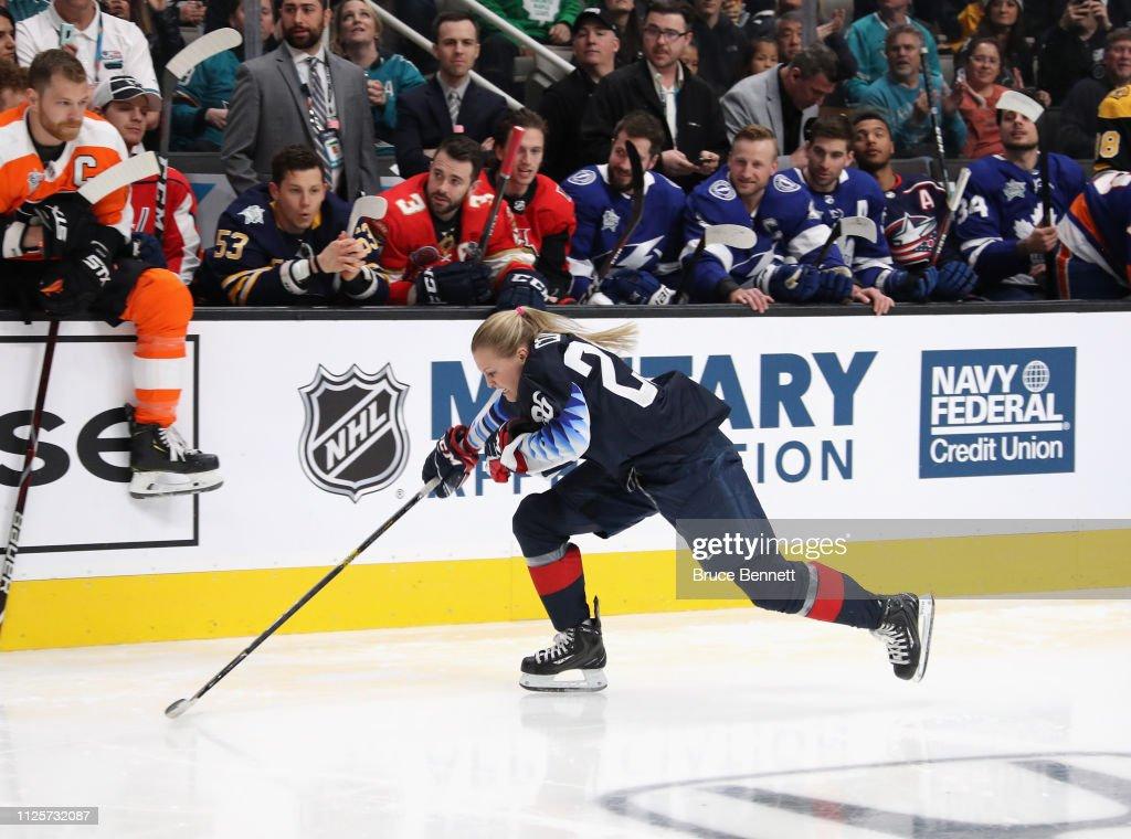 2019 SAP NHL All-Star Skills : News Photo
