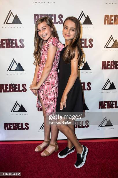 """Kendall Driskell and Ariel Salas attend the Light Festival And Grandma's House Of Hope Host World Premiere Of Influence Music's Short Film """"Rebels""""..."""