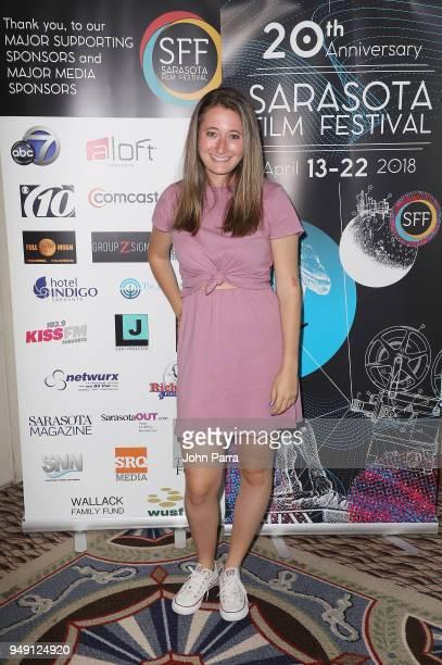 Kendall Goldberg attends the 2018 Sarasota Film Festival on April 20 2018 in Sarasota Florida