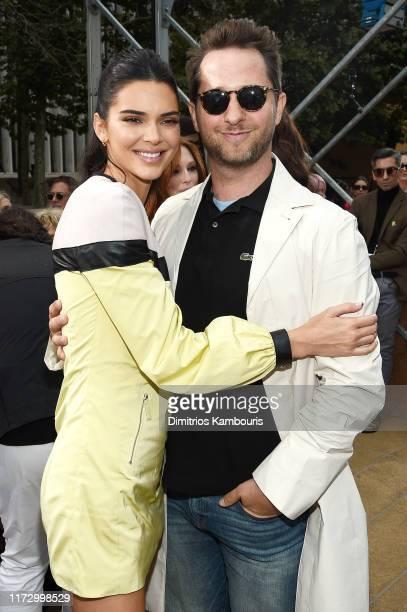 Kendall Jenner and Derek Blasberg attend the Longchamp SS20 Runway Show on September 07, 2019 in New York City.