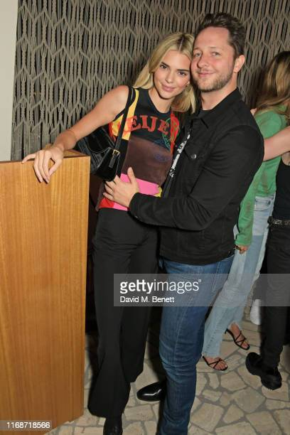Kendall Jenner and Derek Blasberg attend the LOVE YouTube LFW party supported by PerrietJouet and hosted by Katie Grand Derek Blasberg at Decimo at...
