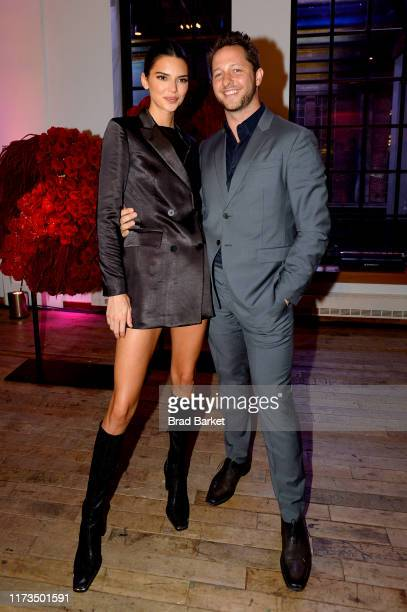 Kendall Jenner and Derek Blasberg celebrate the launch of YouTubecom/Fashion on September 09 2019 in New York City