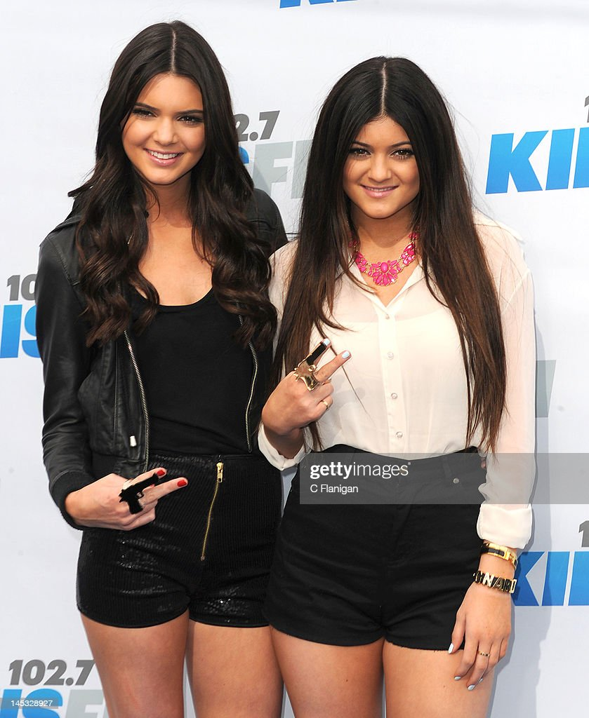 Kendall Jenner and Kylie Jenner attend 102.7 KIIS FM's Wango Tango at The Home Depot Center on May 12, 2012 in Carson, California.