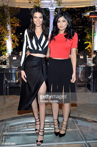 Kendall Jenner and Kylie Jenner attend as Neiman Marcus celebrates the exclusive #OnlyatNM KENDALL KYLIE Collection at Neiman Marcus on March 31 2016...