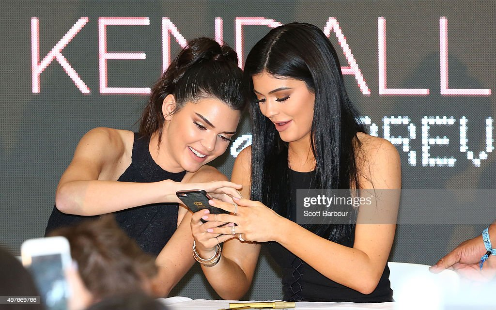 Kendall and Kylie Jenner Launch Kendall+Kylie at Forever New : News Photo