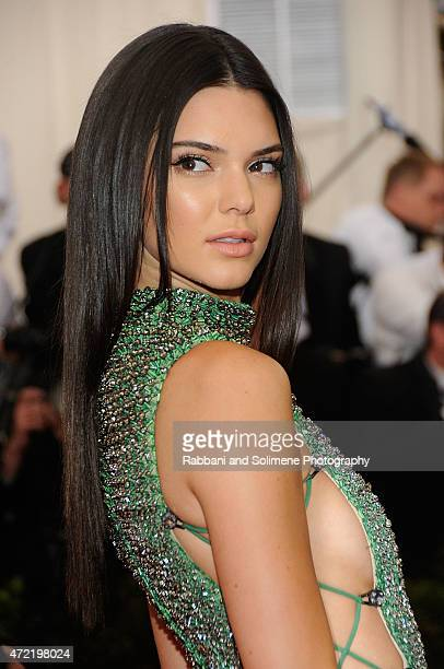 Kendall Jenner arrives at 'China Through The Looking Glass' Costume Institute Benefit Gala at the Metropolitan Museum of Art on May 4 2015 in New...