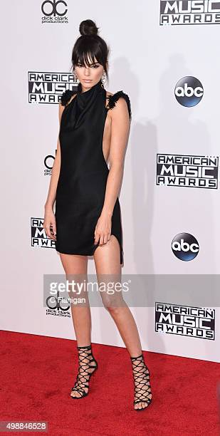 Kendall Jenner arrives at the 2015 American Music Awards at Microsoft Theater on November 22 2015 in Los Angeles California