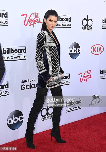 Kendall Jenner arrives at The 2015 Billboard Music Awards on May 17 2015 in Las Vegas Nevada