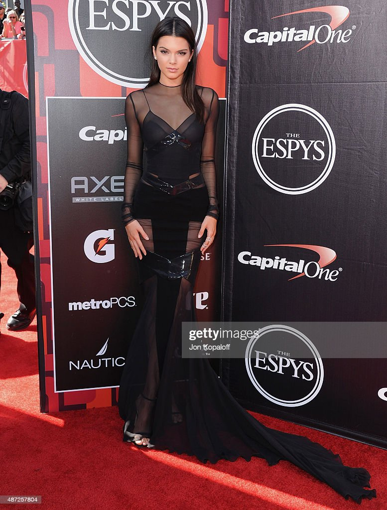 Kendall Jenner arrives at The 2015 ESPYS at Microsoft Theater on July 15, 2015 in Los Angeles, California.