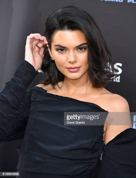 Kendall Jenner arrives at the Premiere Of EuropaCorp And STX Entertainment's Valerian And The City Of A Thousand Planets at TCL Chinese Theatre on...