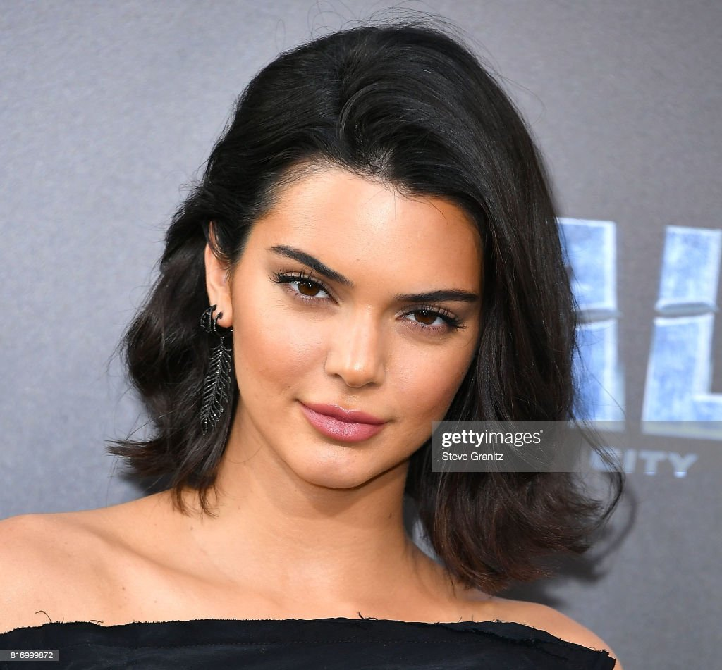 Kendall Jenner arrives at the Premiere Of EuropaCorp And STX Entertainment's 'Valerian And The City Of A Thousand Planets' at TCL Chinese Theatre on July 17, 2017 in Hollywood, California.
