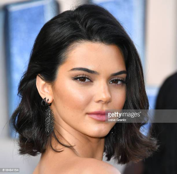 Kendall Jenner arrives at the Premiere Of EuropaCorp And STX Entertainment's 'Valerian And The City Of A Thousand Planets' at TCL Chinese Theatre on...
