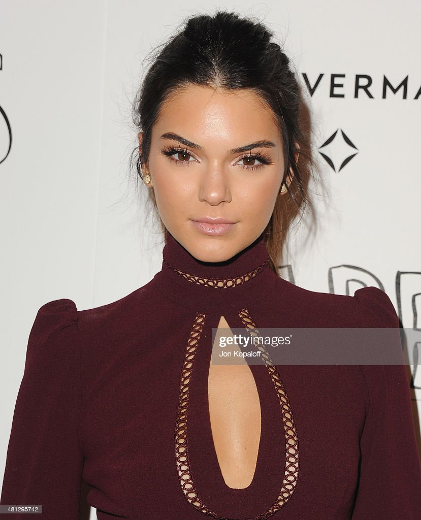 Kendall Jenner arrives at the Screening Of 20th Century Fox's 'Paper Towns' at The London West Hollywood on July 18, 2015 in West Hollywood, California.