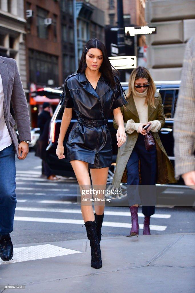 Celebrity Sightings in New York City - February 9, 2019 : News Photo