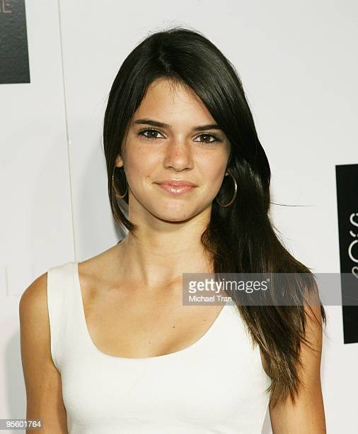 Kendall Jenner arrives to the 'Kiss Tell' record release party for Selena Gomez and The Scene held at Siren Studios on September 29 2009 in Hollywood...