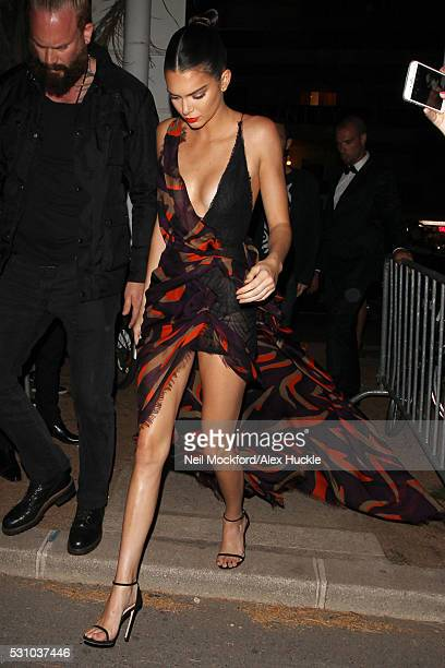 Kendall Jenner arriving at Magnum Beach Party on May 12 2016 in Cannes France