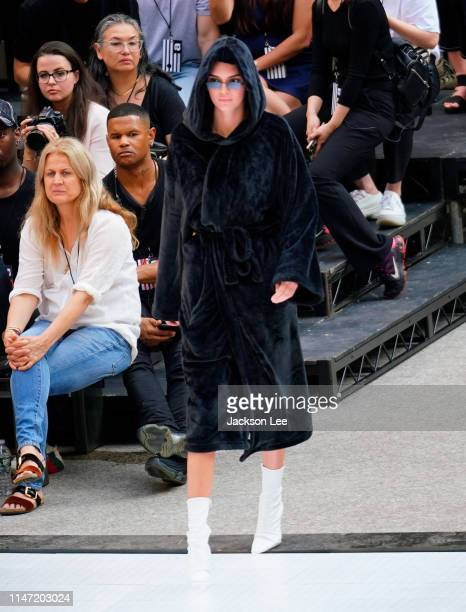 Kendall Jenner at Alexander Wang show at Rockefeller Center on May 31, 2019 in New York City.