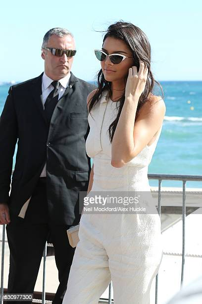 Kendall Jenner at Magnum Beach on May 12 2016 in Cannes France