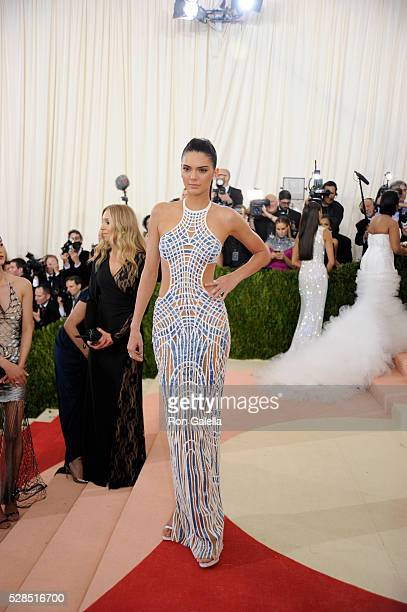 Kendall Jenner at Metropolitan Museum of Art on May 2 2016 in New York City