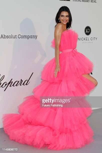 Kendall Jenner at the amfAR Cannes Gala 2019 at Hotel du CapEdenRoc on May 23 2019 in Cap d'Antibes France