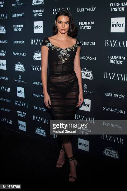 Kendall Jenner attends 2017 Harper's Bazaar Icons at The Plaza Hotel on September 8 2017 in New York City