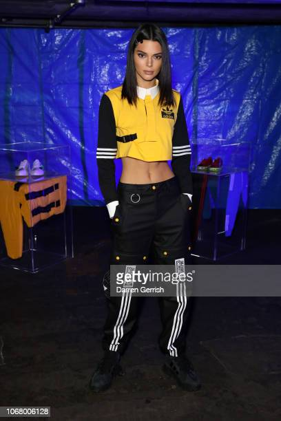 Kendall Jenner attends adidas Originals by Olivia Oblanc on November 15, 2018 in London, United Kingdom.