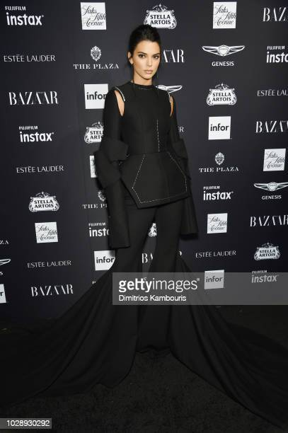 Kendall Jenner attends as Harper's BAZAAR Celebrates ICONS By Carine Roitfeld at the Plaza Hotel on September 7 2018 in New York City