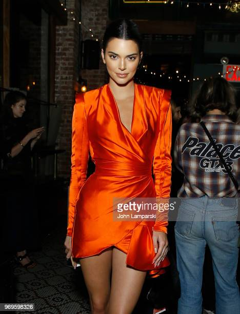 Kendall Jenner attends CHAOS x LOVE magazine party on June 7 2018 in New York City