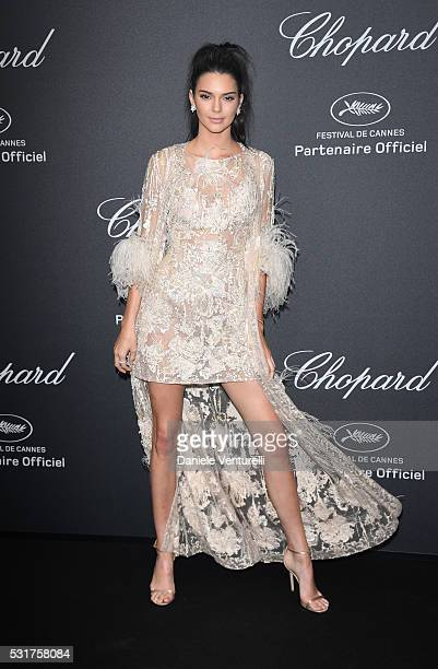Kendall Jenner attends Chopard Wild Party as part of The 69th Annual Cannes Film Festival at Port Canto on May 16, 2016 in Cannes, France.