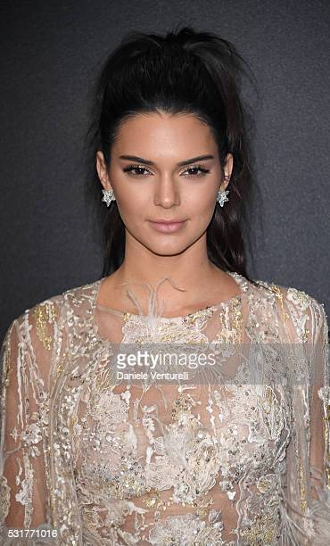 Kendall Jenner attends Chopard Wild Party as part of The 69th Annual Cannes Film Festival at Port Canto on May 16 2016 in Cannes France