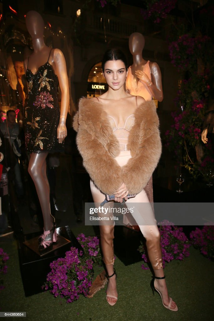La Perla MFW Collection's Presentation and Milan Store Opening : News Photo